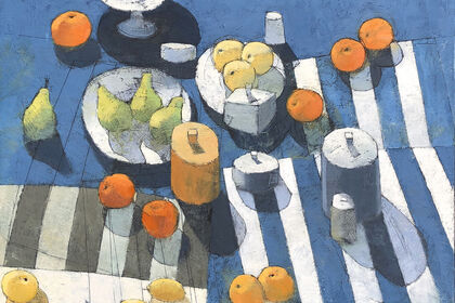 Paul Balmer's Still Lifes and Cityscapes