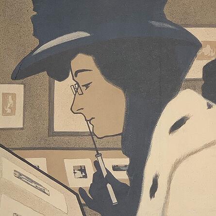 """F. W. Loy, '""""Akademia Ausstellung""""', 1907"""