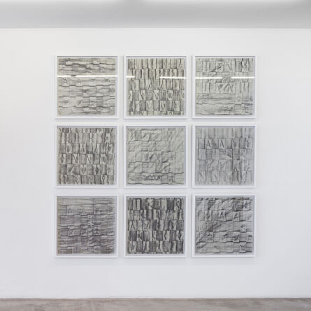Rodrigo Garcia Dutra, 'Tabom Concreto series (9 parts numbered from XXIV to XXXII)', 2013
