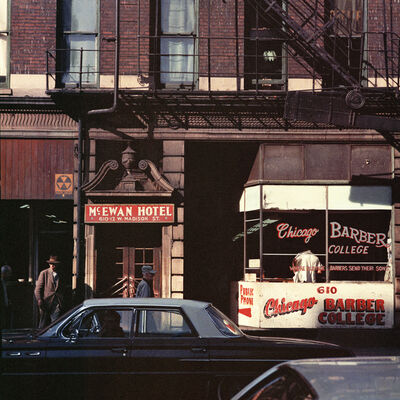 Mario Carnicelli, 'Barber College, Chicago', 1966