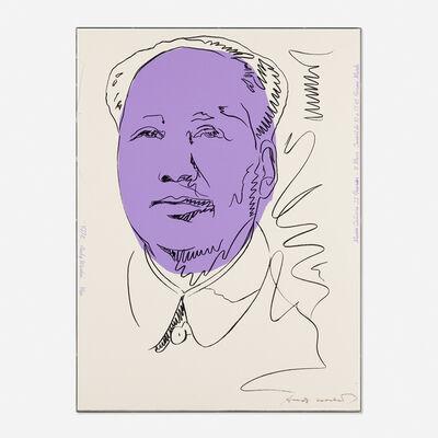 Andy Warhol, 'Mao', 1974