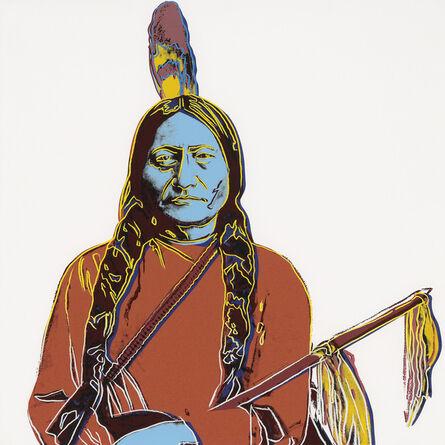 Andy Warhol, 'Sitting Bull', 1986