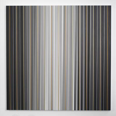 Gabriele Evertz, 'Grays + Metallics (Aedicula), The Black Room Series', 2014