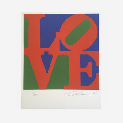 Robert Indiana, 'Book of Love (red)', 1996