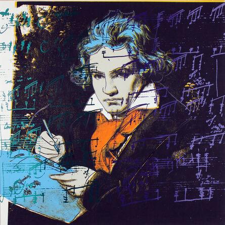 Andy Warhol, 'Beethoven TP', ca. 1987