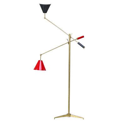 Angelo Lelii, 'Two-arm floor lamp, Italy', 1950-60s