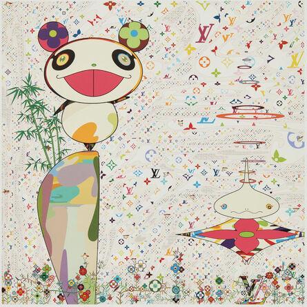 Takashi Murakami, 'Superflat Monogram: Panda & His Friends', 2005