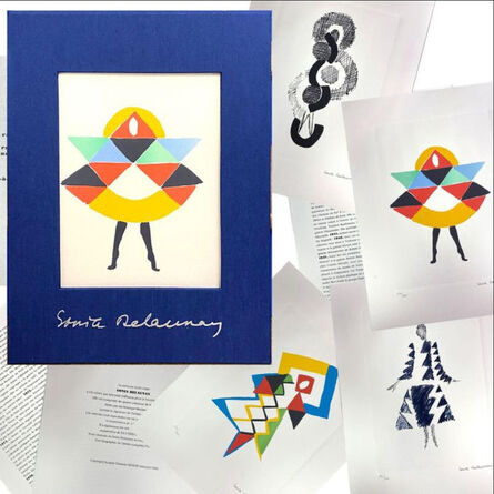 Sonia Delaunay, 'Set of 4 lithographs', 1994