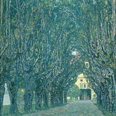 Gustav Klimt, 'Alley in front of Castle Chamber', 1912