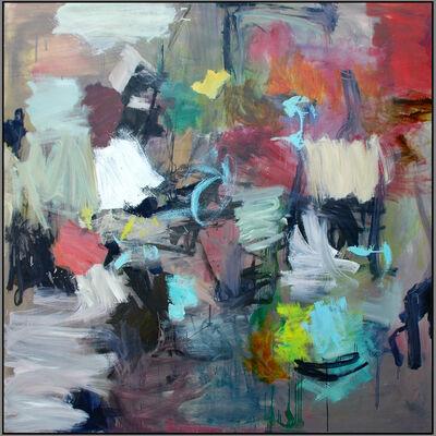 Scott Pattinson, 'Kairoi No 16 - large, vibrant, colourful, gestural abstract, oil on canvas', 2016