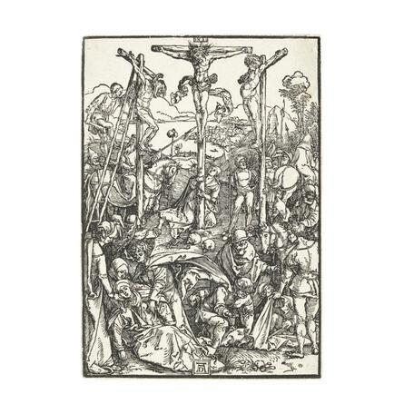 Albrecht Dürer, 'Calvary with the Three Crosses (Bartsch 59; Meder, Hollstein 180; Schoch Mende Scherbaum 131)', c. 1503