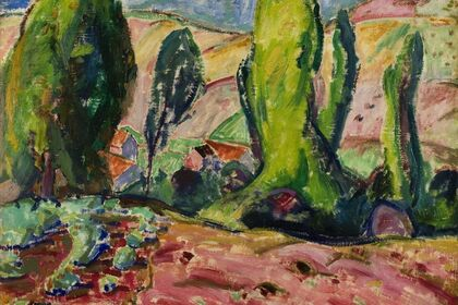 ALFRED MAURER: ART ON THE EDGE