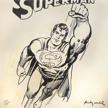 Andy Warhol, 'Superman', ca. 1986