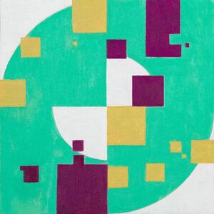 Natalie Dower, 'Squares and Circles no. 2', 2019