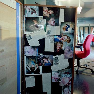 John Divola, '(X11F12) Display Wall, Dallas Interview Room - Stage 6', 2002