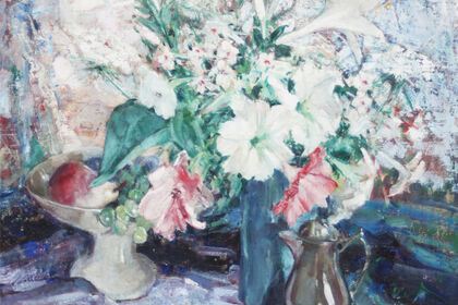 FLOWERS, FOOD and FIDDLES- A Still Life Show to Whet Every Appetite