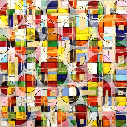 Petra Rös-Nickel, 'Color Pattern 15-8', 2015
