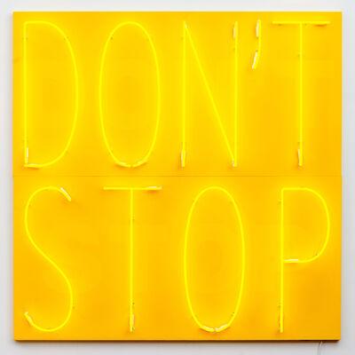 Deborah Kass, 'Don't Stop 3 (Yellow/Yellow/Yellow)', 2020