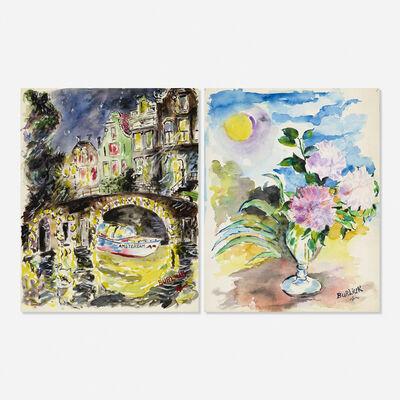 David Burliuk, 'Untitled (two works)'
