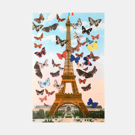 Peter Blake, 'Eiffel Tower (from the Paris Suite)', 2010