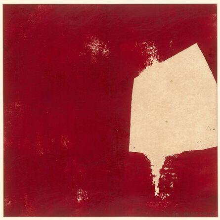 Chu Weibor, 'Red & White', 1970