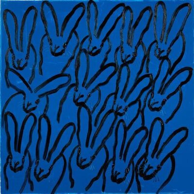 Hunt Slonem, 'Blue Tangle (CX0462)', 2021