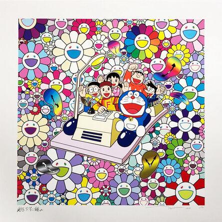Takashi Murakami, 'Let's Go on the Time Machine', 2021