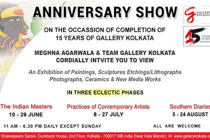 15th Anniversary Show, Gallery Kolkata