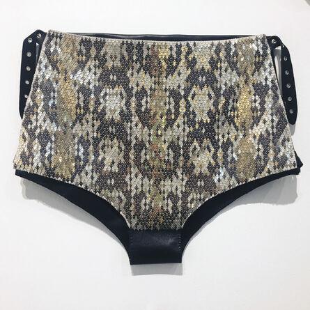 Mallory Weston, 'Python Hot Pants', 2016