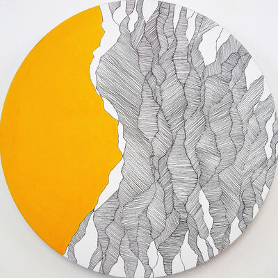 Annette Mewes-Thoms, 'Lines R2', 2020