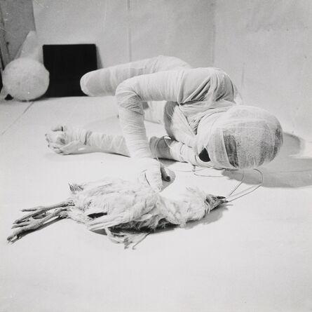 Rudolf Schwarzkogler, ' Aktion mit seinem eigenen Körper', 1966