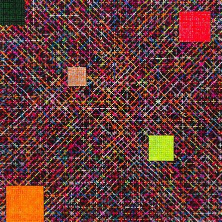 Ding Yi 丁乙, 'Appearance of Crosses 2010-13 十示 2010-13', 2010