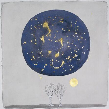 """Crystal Liu, 'The Moon, """"at night""""', 2015"""