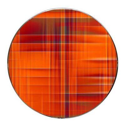 Umberto Ciceri, 'Round square millimeter, Sync n. 1196', 2018