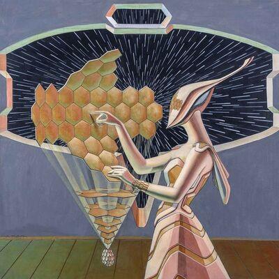 Yalçın Bilgin, 'Cosmic Egg', 2015