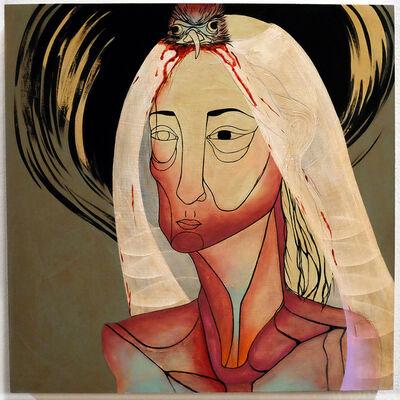 Jennifer Caviola (CAKE), 'Chickenhead Bride', 2013-2014