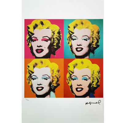 Andy Warhol, '4 Marilyns', 1962-1987