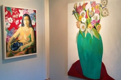 FROM THE BOLD EARTH: Paintings in the Figurative Tradition by Teresa Baksa and Kathleen Sidwell