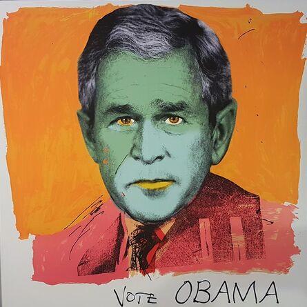 RJ Berman & John Colao, 'Vote Obama', 2008