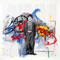 Mr. Brainwash, 'GOLD RUSH (CHAPLIN)', 2018