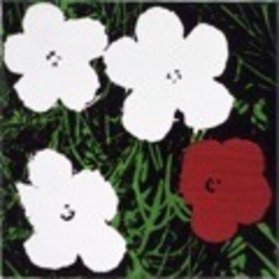 Sturtevant, 'Warhol, Flowers', 1969-1970