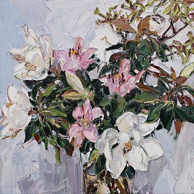 Nicholas Harding, 'Magnolias, lilies and kangaroo paw', 2014