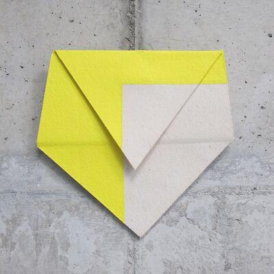 Luciano Figueiredo, 'Relevo (amarelo)', 2014