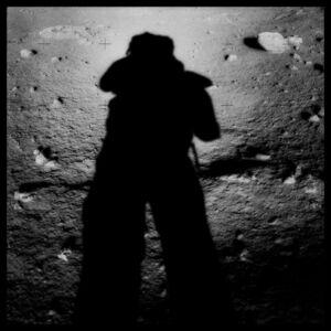 Michael Light, '045 Astronaut's Shadow; Photographed by Harrison Schmitt, Apollo 17, December 7-19, 1972', 1999