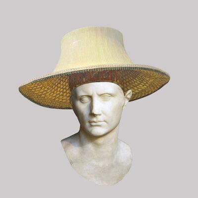Cecilia Miniucchi, 'Roman Emperor Augustus/Bamboo Thai Hat', 2018