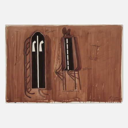Los Carpinteros, 'Trineo y vagon con carretera', 1998