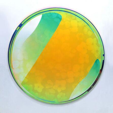 Hidenori Ishii, 'MIRЯOR - Yellow Fluorite', 2019