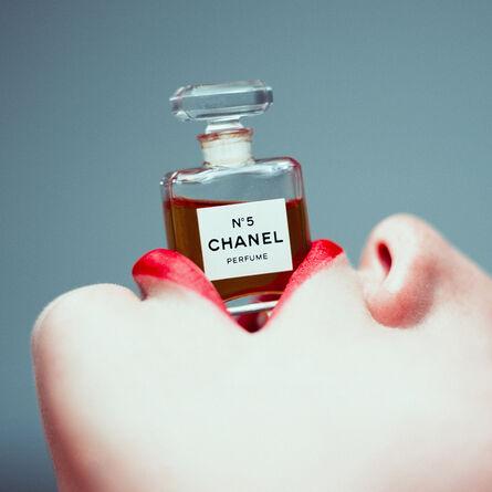 Tyler Shields, 'Chanel Lips', 2016