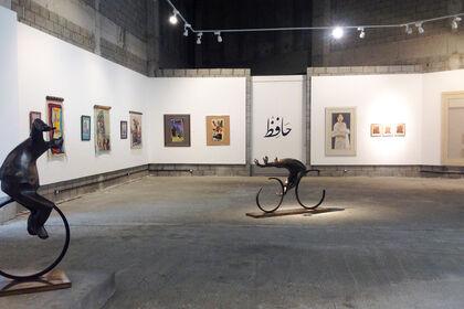 Hafez Gallery at Shara Art Fair   حافظ جاليري في معرض شارة