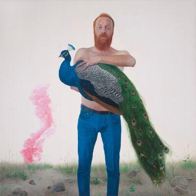 Fatih Gürbüz, 'Myth III The Angel Peacock', 2017
